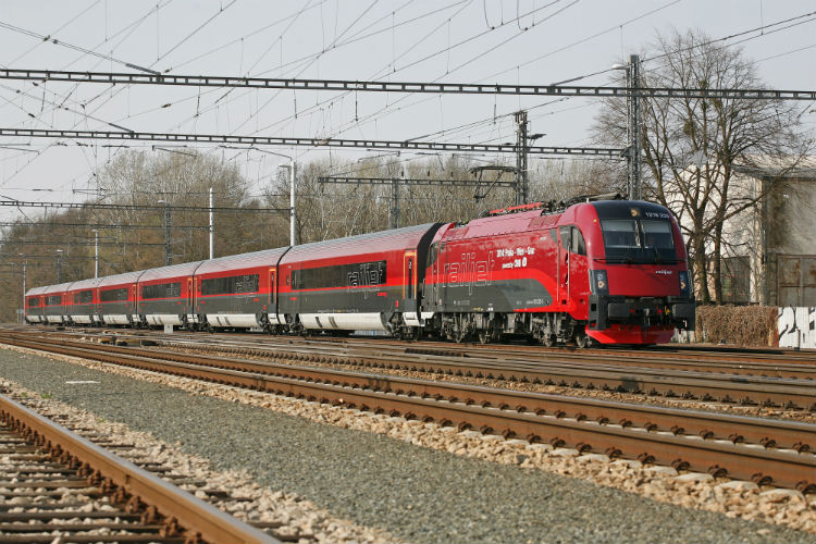 Railjet Česk 233 Dr 225 Hy