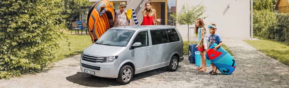 Minivan pro dosažení vlakové uhlíkové stopy