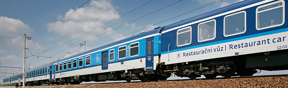 picture of EuroCity train
