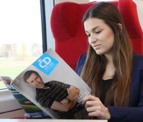 odpočinek ve vlaku